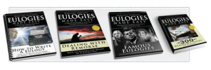 Eulogies Made Easy - 4 Information Guides