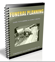 Eulogy Writing Guide, How to Write a Eulogy